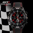GT 54 GRAND TOUCHING Silicone Band Quartz Analog Sport Watch
