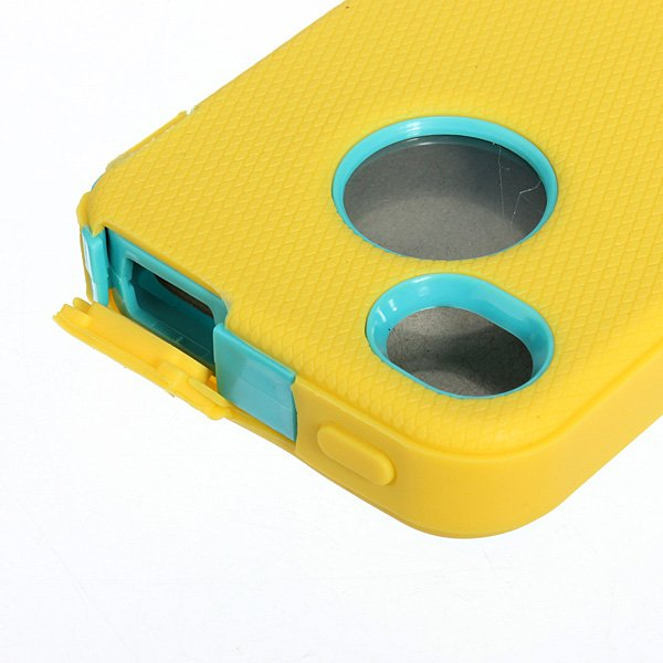 Heavy Duty Armor Rugged Hard Back Case For iPhone 4 4S