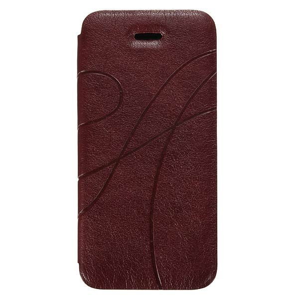 Elegant Design PU Leather Protective Case Cover For iPhone 5 5S