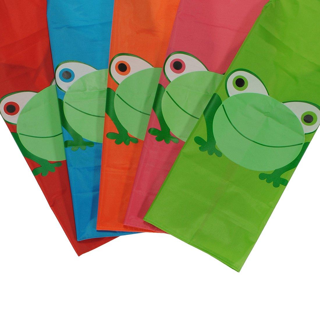 Childern Kids Cartoon Frog Printed Waterproof Costume Painting Apron