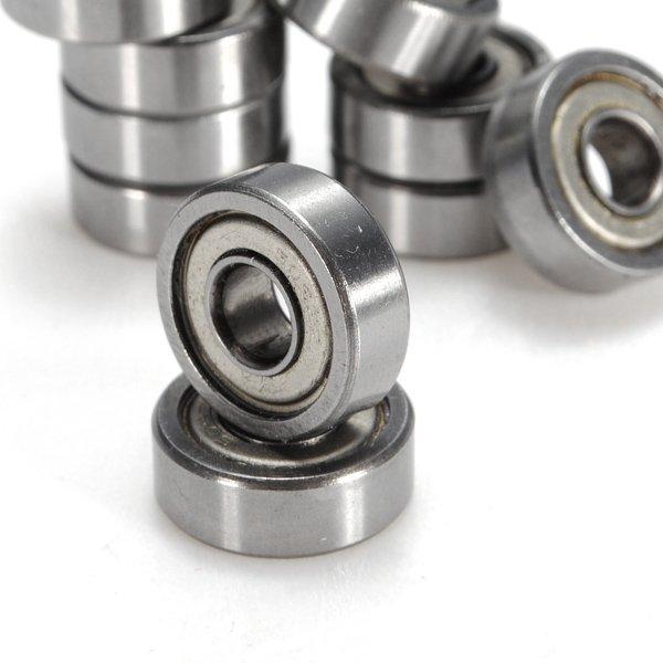 10pcs 605-ZZ 5x14x5mm Deep Groove Ball Bearings Miniature Bearings