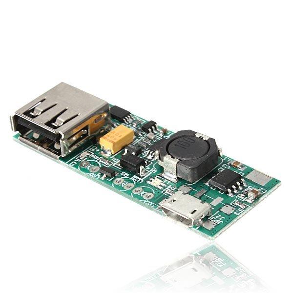 3.7V Li-ion Battery Mini USB To USB A Power Supply Module 5V 1A Charger Module