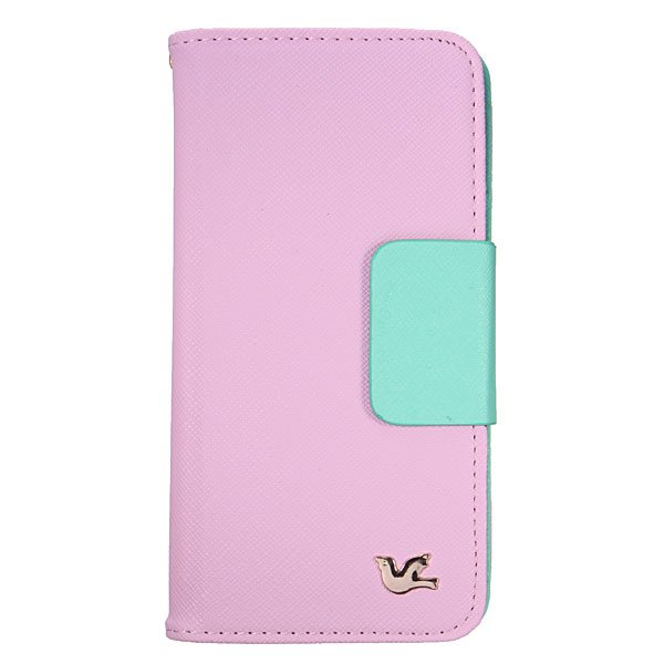 Mirror Flip Wallet Leather Card Case For Samsung Galaxy Note 4