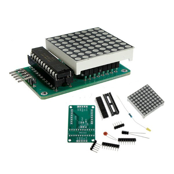 MAX7219 Dot Matrix Module DIY Kit SCM Control Module For Arduino