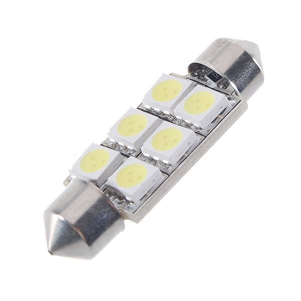 T10 1206 28SMD LED Auto Light Bulb, White