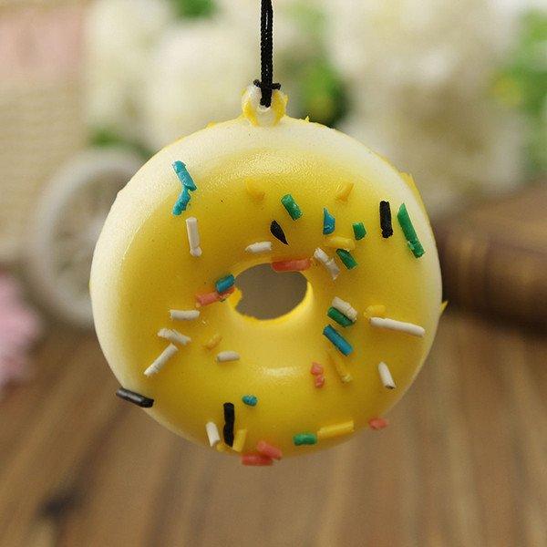 Kawaii Donuts Soft Squishy Cell phone Chain Cute Strap