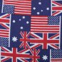 UK USA Flag Pattern Pillow Case Home Office Car Decoration