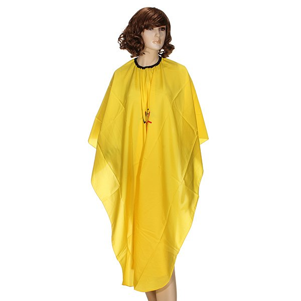 Professional Hair Cutting Hairstylist Polyester Hairdressing Gown
