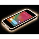 LED Flash Light UP Remind Incoming Call TPU Case For iPhone 5