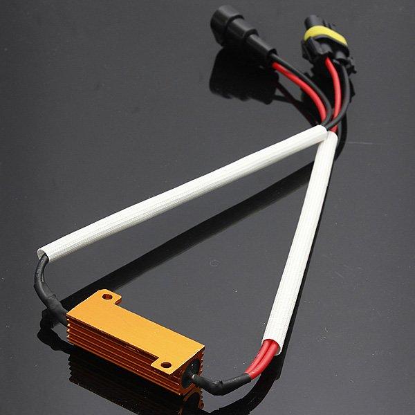 50W/6R(6ohm) Load Resistor Wiring Canceled Decoder HID/LED Light