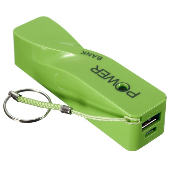 V8 Cable 1800mAh External Battery Charger Power Bank For Phone