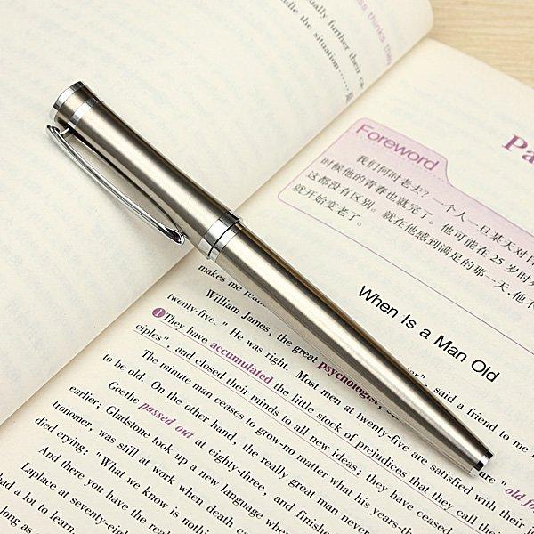Baoer 3035 Stainless Medium Nib 0.5mm Fountain Pens