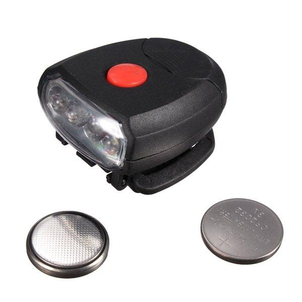 4 LED Clip Cap Head Torch Light Lamp Fishing Headlight Flashlight