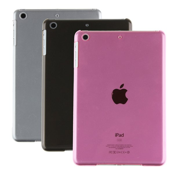 TPU Gel Half Transparency Protective Back Case For iPad Mini 3