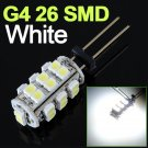 G4 26 SMD LED RV Marine Boat Camper Light Bulb 12V 2W