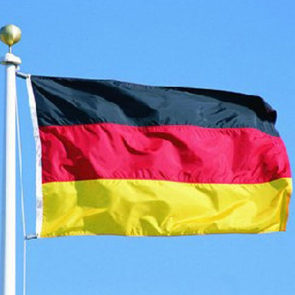 Outdoor Indoor Germany Country Banner National Flag Pennant 3x5ft