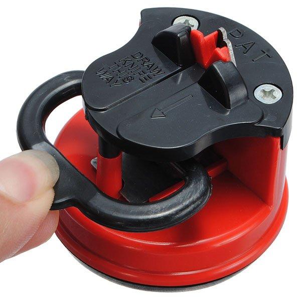 Kitchen Safety Knife Sharpener Grinder Tool Secure Suction Pad
