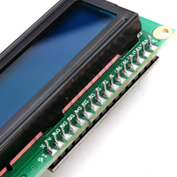 IIC / I2C 1602 Blue Backlight LCD Display Module For Arduino