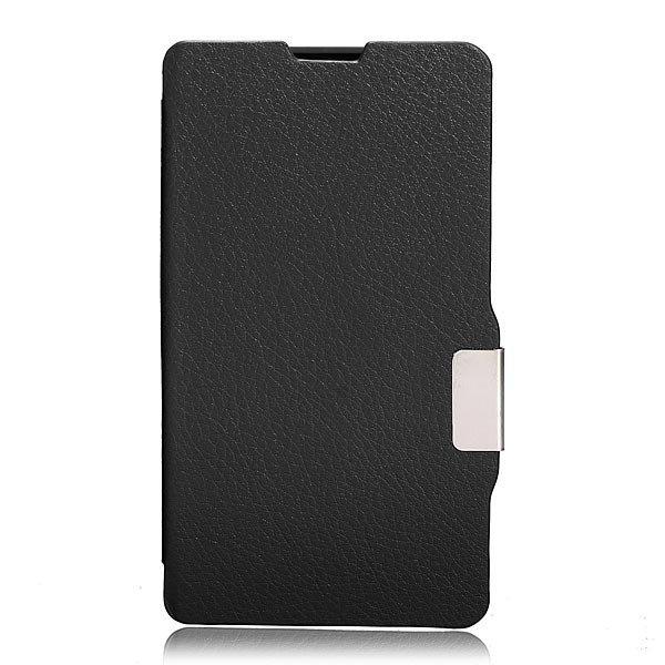 Ultra Slim Magnetic Flip PU Leather Case For Nokia Lumia N520
