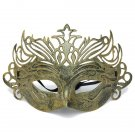 Men Roman Mardi Gras Eye Mask Venetian Crown Masquerade Mask