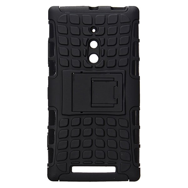 Armor Hybrid Dual Layer Rugged Hard Case For Nokia Lumia 830