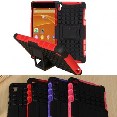 Armor Hybrid Rugged Hard Back Case For Sony Xperia Z3