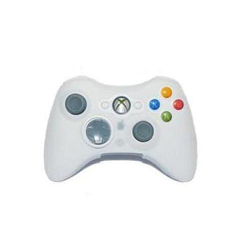 White Silicone Skin Case Cover for XBOX 360 Controller