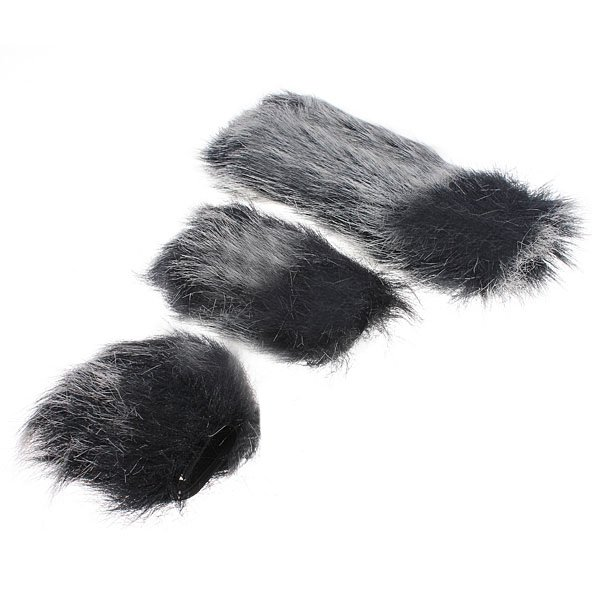 Microphone Windshield Fur Wind Muff Windscreen For Camcorder Recorder