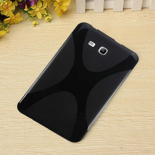 X-Line TPU Silicone Soft Case Back Cover For Samsung Galaxy T110