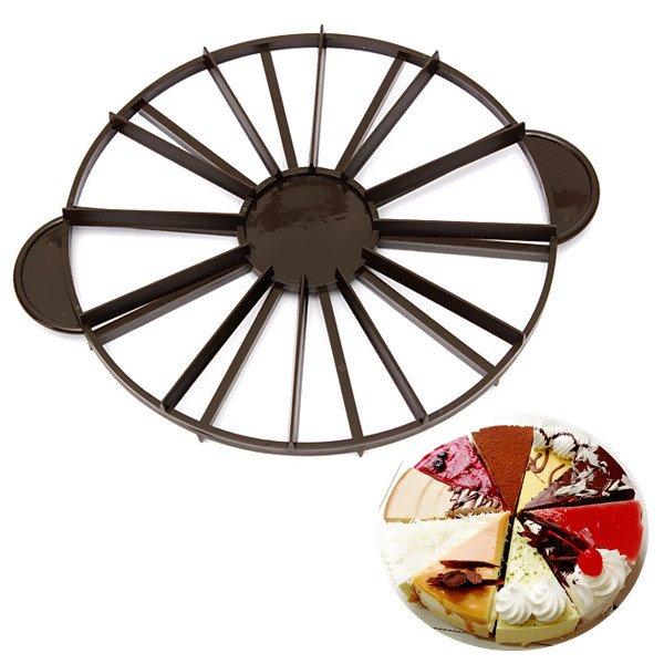 Slice Pie Cake 10/12 Piece Equal Portion Marker Divider