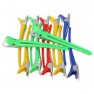 12Pcs Colorful Hairdressing Salon Sectioning Clips Duck Clamps Hair Styling Grip