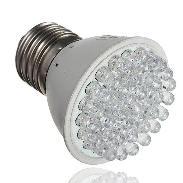 E27 1.9W 38 LED Grow Light Plant Lamp Hydroponic AC 110/220V