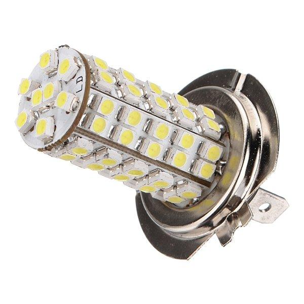 Car H7 68 SMD LED White Headlight Bulbs Light NEW