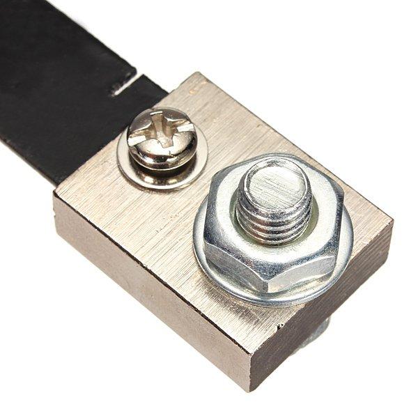 100A 75mV FL-2 DC Current Shunt Resistor For Amp Ampere Panel Meter