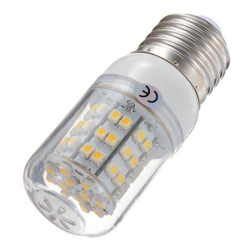 E27 3W Warm White 60 SMD 3528 LED Corn Bulb Light 220V