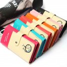 PU Leather Wallet Womens Purse Checkbook Coin Bag Card Handbag