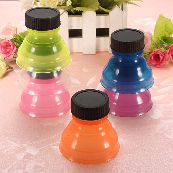 6 Pcs Outdoor Camping Soda Can Bottle Caps