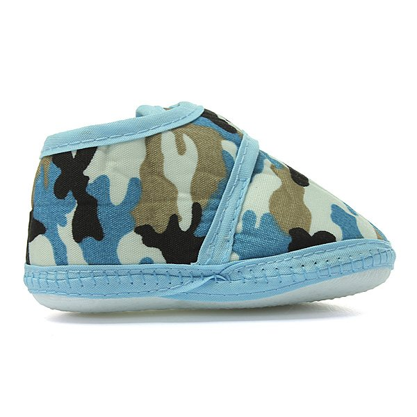 Camouflage Soft Sole Crib Prewalker Shoes Baby Boy Infant Toddler