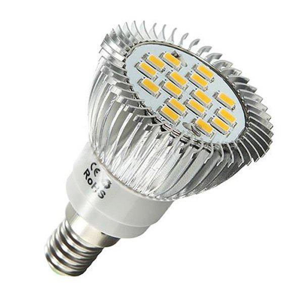 E14 6.5W 16 LED 5630 SMD 500lm White Led Spot Light Bulbs 220V