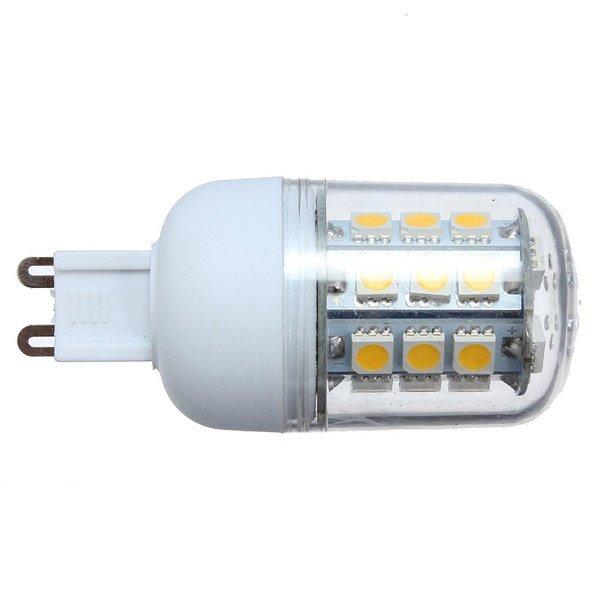 G9 LED Bulb 3W White/Warm White 27 SMD5050 LED Corn Light 220V
