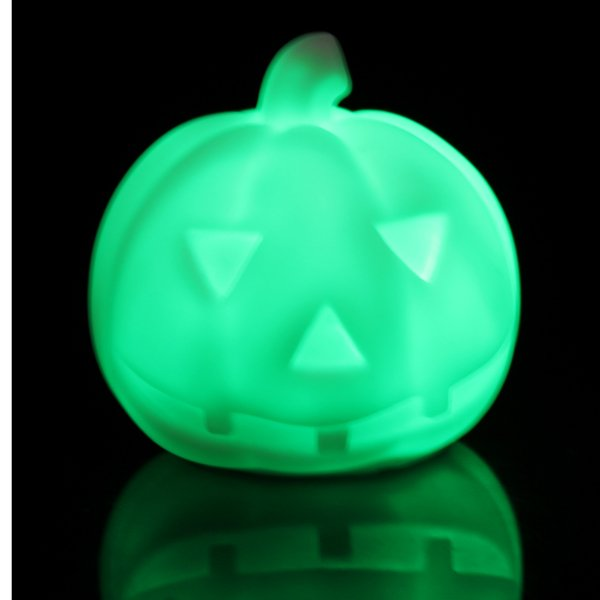 Creative Lamps Colorful LED Pumpkin Night Light Halloween Gift