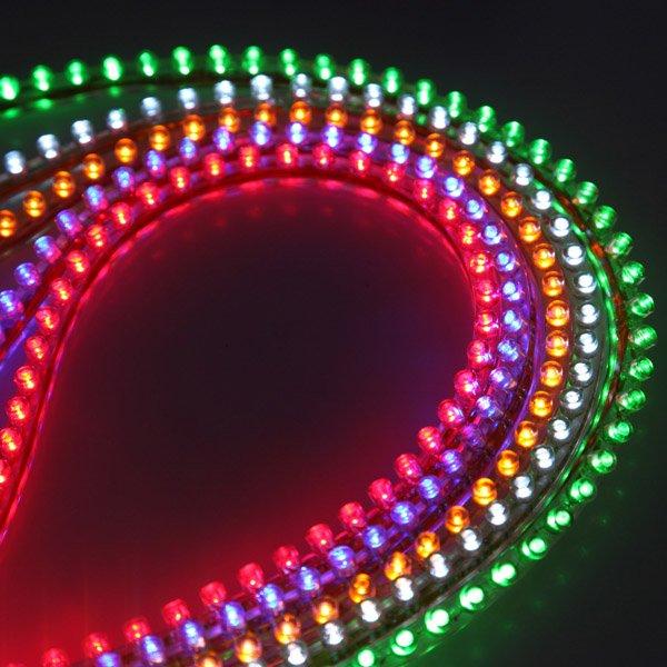 120 LED Bulb Flexible Strip Line Car Light PVC New 12V