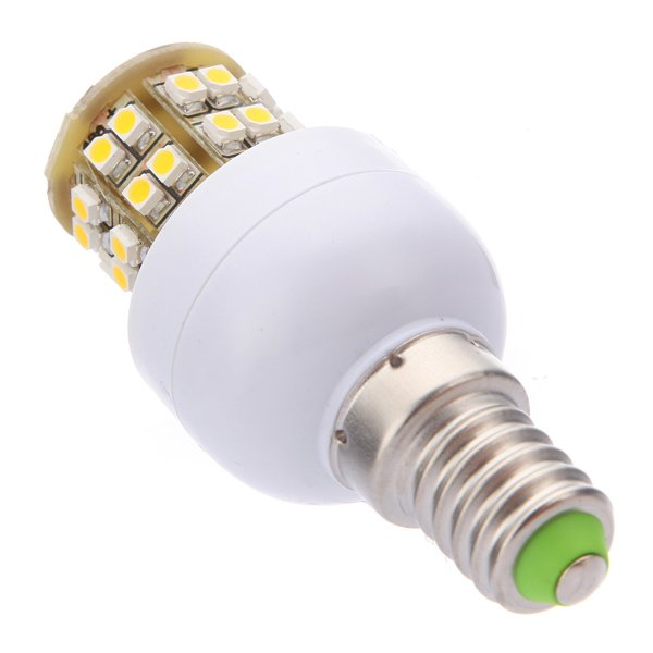E14 2.9W Warm White 48 SMD 3528 LED Energy Saving Light Bulb 220-240V
