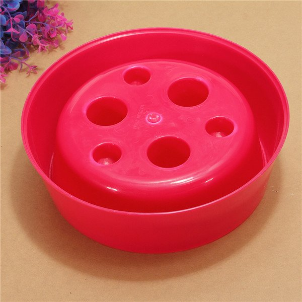 Pet Dog Cat Puppy Anti-Gulping Food Water Eating Bowl Feeder Dish