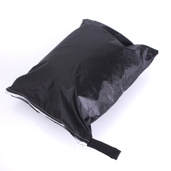 Black/Red Universal Front Car Seat Protector Covers Water Resistant