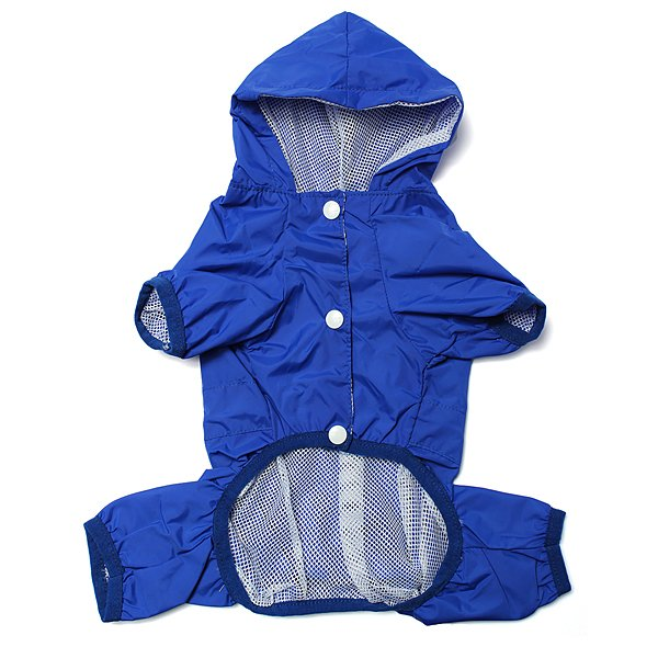 Pet Dog Raincoat Waterproof Dog Jacket Hoody Puppy Apparel