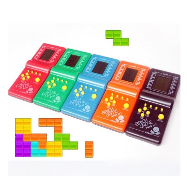 Classic Fun Tetris Hand Held LCD Electronic Brick Game