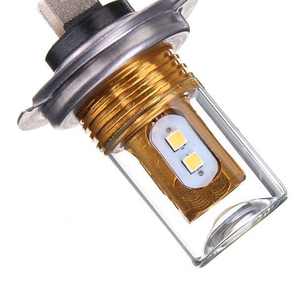 H7 10W Cree LED 6500K Pure White Headlights Fog Lights DRL Bulb
