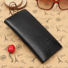 Ultra-slim Men Leather Wallet Money Clip Credit Card Holder Purse
