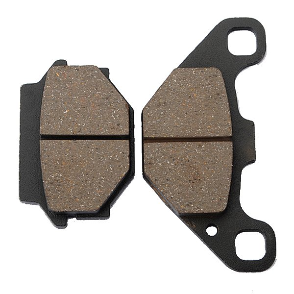 Rear Brake Pads Black For Kawasaki KL650 A1-A18